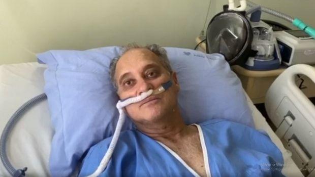 Pai do cantor Cauan se recupera da Covid-19 e recebe alta