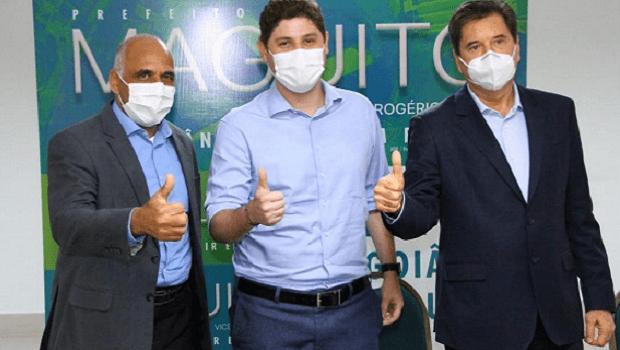 Lucas Calil e José Vitti anunciam apoio a Maguito Vilela