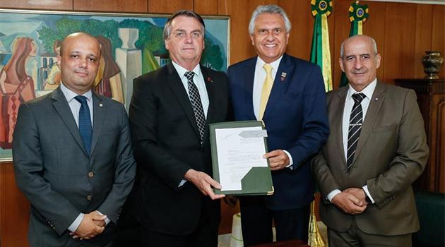 Sanção de MP 987 deve trazer R$2 bilhões em investimentos e gerar 27 mil empregos em Goiás
