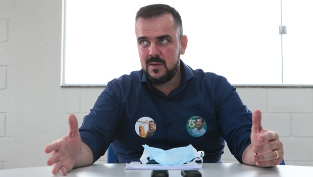 """Gustavo Mendanha: """"Queremos continuar o trabalho para melhorar a qualidade de vida da população"""""""