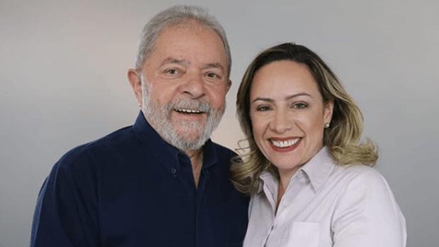 Adriana vai a SP gravar programas eleitorais com Lula