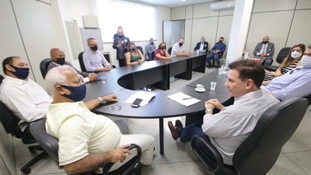 Vanderlan se reúne com representantes da Segurança Pública