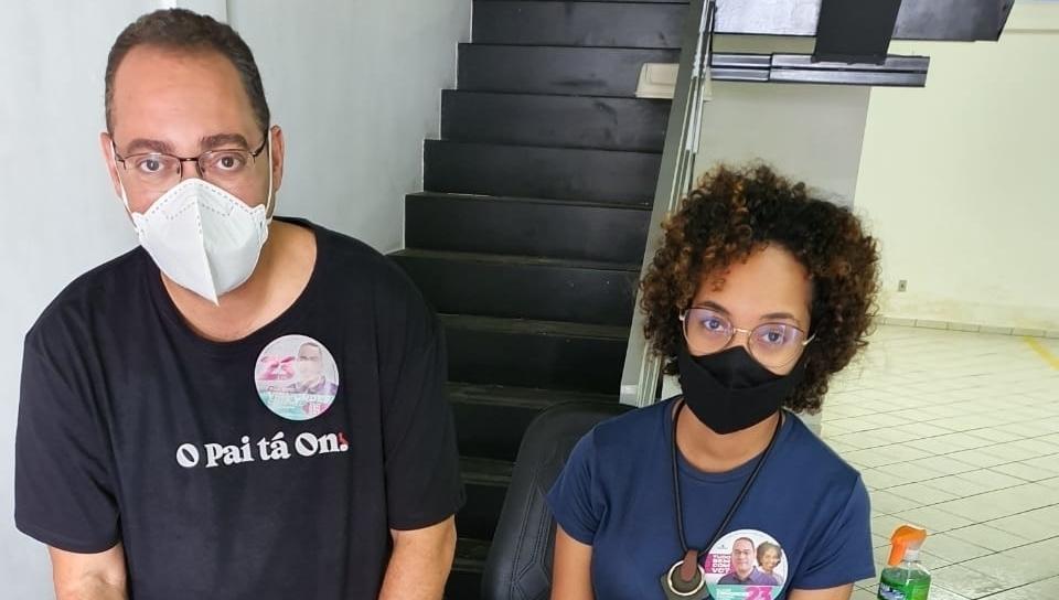 Chapa de Virmondes e Julimaria assinam o Pacto pela Juventude