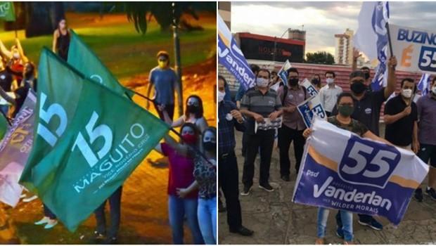 Campanhas de Maguito e Vanderlan arrecadaram R$ 3,9 milhões