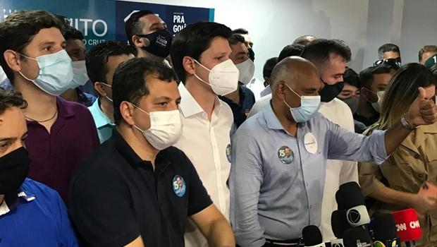 """""""A palavra de ordem é gratidão"""" diz Rogério Cruz após vitória de chapa para Prefeitura de Goiânia"""