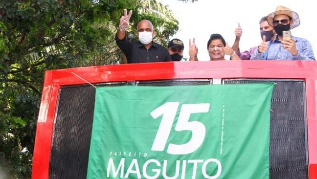 Rogério Cruz volta para a campanha nas ruas