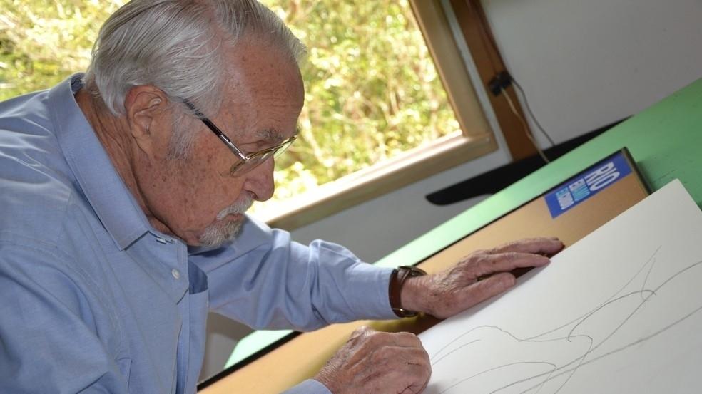 Morre o cartunista Lan, aos 95 anos. Trabalhou na Última Hora, Globo e JB