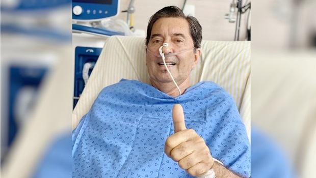 Maguito segue intubado e com suporte da ECMO