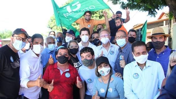 Aliados classificam campanha de Maguito Vilela como propositiva em carreatas de encerramento