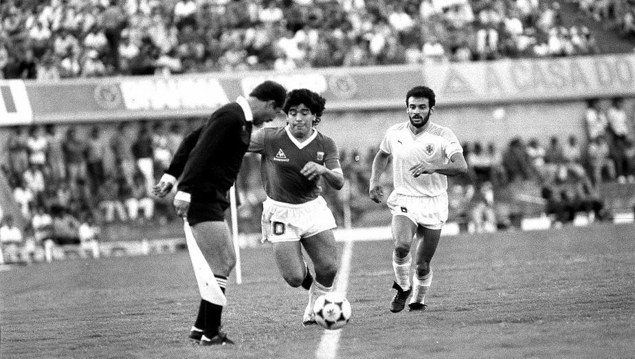 Maradona esteve em Goiânia em 1989