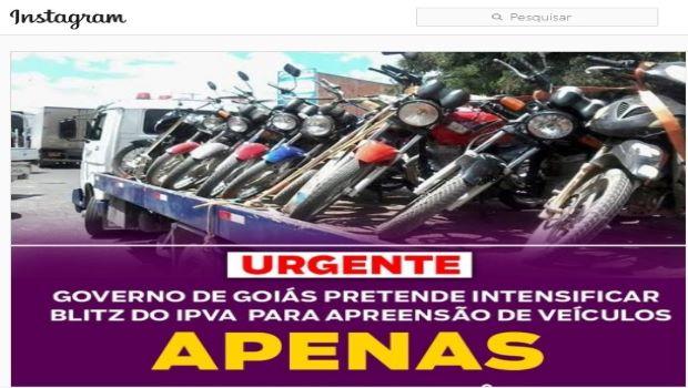Post do deputado Estadual Alysson Lima espalha falsa notícia de blitz nas periferias