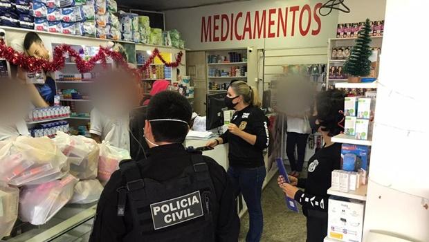 Operação Perlage mira proprietários de rede de farmácias da capital