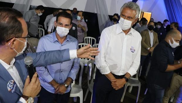 """""""Ao lado do Vanderlan e do Wilder, nós vamos multiplicar as potencialidades de Goiânia"""", diz Caiado"""
