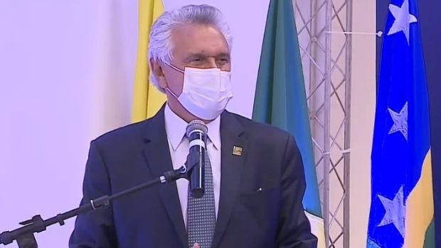 Caiado participa de inauguração da nova sede do MPGO, em Aparecida