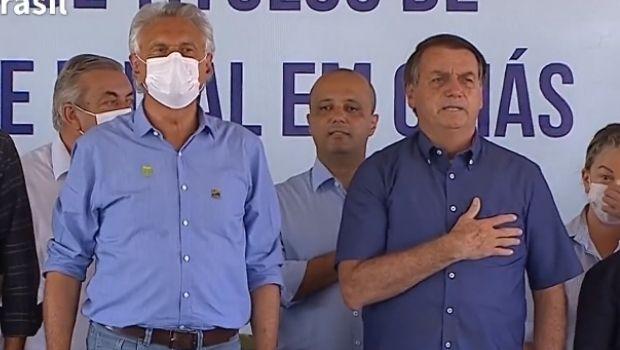 Em evento no Nordeste goiano, Bolsonaro participa de entrega de títulos de propriedade rural
