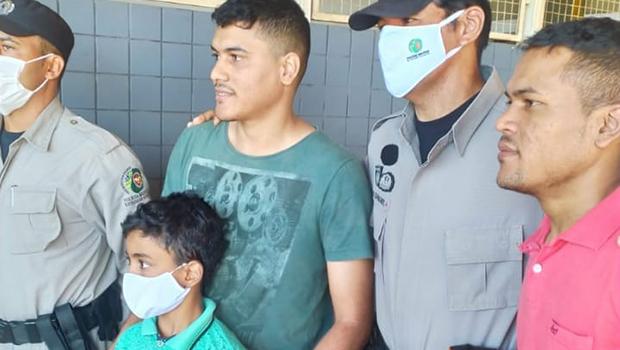 Criança perdida encontra a família com ajuda de funcionário do terminal Padre Pelágio