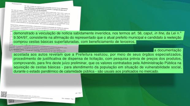 Justiça refuta acusações do candidato Valeriano Abreu e determina suspensão do seu último programa eleitoral