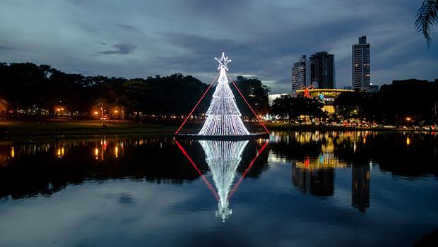 Decoração de Natal será inaugurada nesta sexta-feira, nas sete regiões de Goiânia