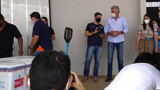 Ronaldo Caiado pede comprometimento para evitar colapso da saúde