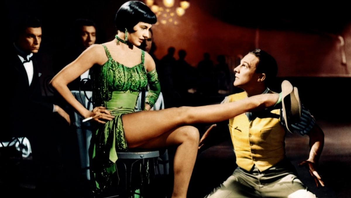 As pernas da atriz e dançarina Cyd Charisse pareciam ter alma