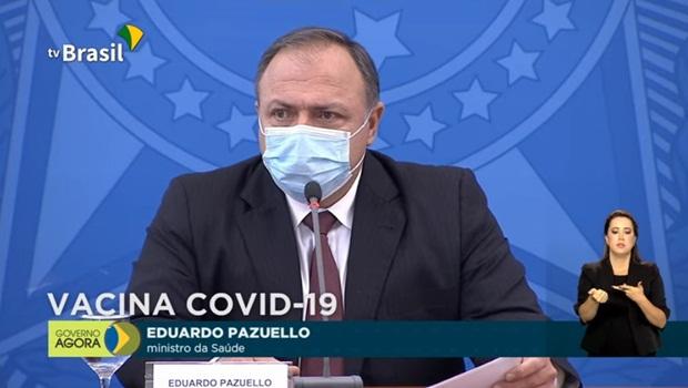 Desonestidade do ministro da Saúde ganha formato de monólogo com transmissão ao vivo