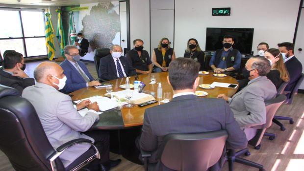 Paço Municipal avança no diálogo com auditores e procuradores