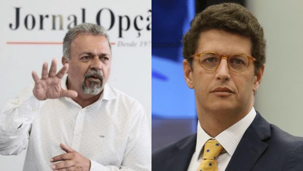 Deputado Federal Elias Vaz encaminha denúncia contra Ministro do Meio Ambiente, Ricardo Salles