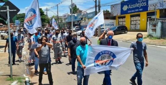 Após assembleia, trabalhadores terceirizados e sindicato aguarda reunião com a Enel para tomada de decisão