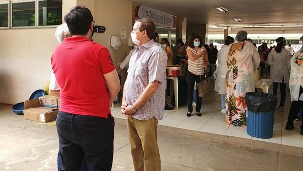 Secretaria de Saúde esclarece que vacinas não foram compradas pelo CFO