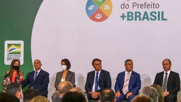 Prefeitos goianos se reúnem com presidente Jair Bolsonaro, em Brasília