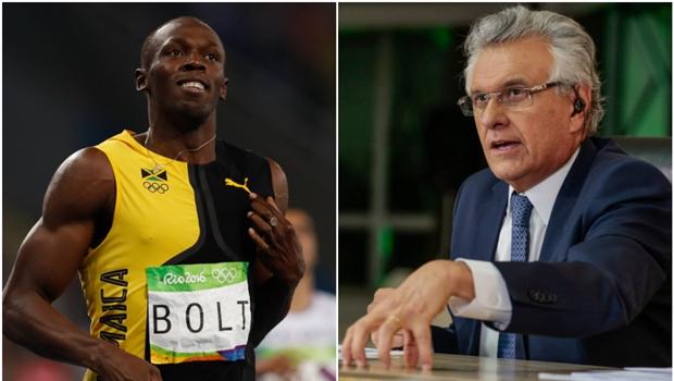 Caiado pode ser o Usain Bolt de 2022. Demais postulantes disputam o bronze e a prata