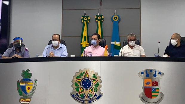 Caldas Novas lança Centro de Atendimento para pessoas com sintomas de Covid-19