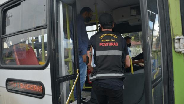 Mais de 70 ônibus são multados por lotação de pessoas em Aparecida de Goiânia