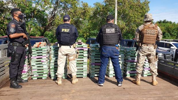Operação Tacada Certa faz a maior apreensão de drogas deste ano em Goiás