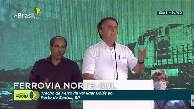 Em Goiás, Bolsonaro diz que ficar em casa é covardia e que nunca se afastou de buscar vacina