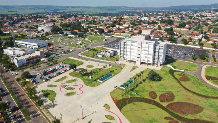 Sede do executivo de Aparecida recebe nome oficial de Cidade Administrativa Luiz Alberto Maguito Vilela