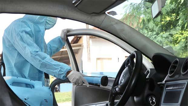 Prefeitura de Senador Canedo oferece sanitização veicular para táxis e carros de aplicativo