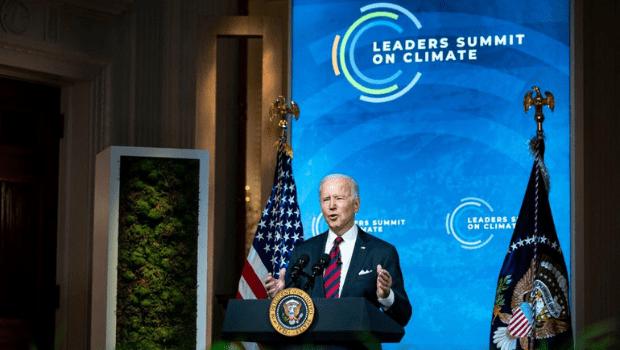 Na Cúpula do Clima, Biden diz que meta climática coloca EUA no caminho para zero emissões em 2050