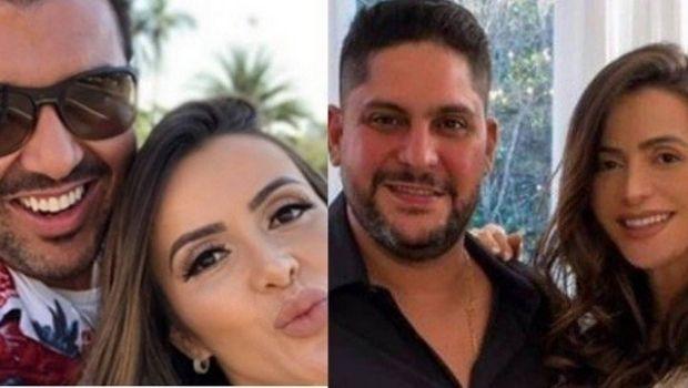 Cantor Jorge processa empresário que além de ex-cunhado é ex-namorado de sua esposa. Entenda