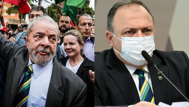 """Lula ironiza o fato de Pazuello estar """"copiando"""" gravata usada em depoimento"""