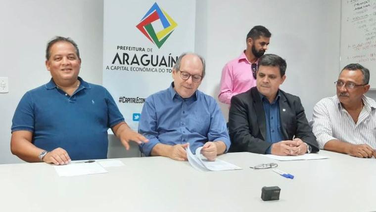 Os aliados Ronaldo Dimas e Eduardo Gomes podem se enfrentar pelo governo do Tocantins
