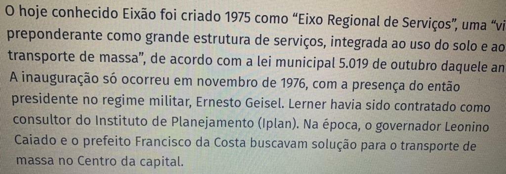 Reportagem de O Popular erra e diz que Eixo Anhanguera não foi construído por Irapuan Costa Jr.