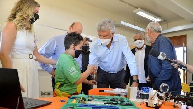 Com atenção especial para Educação, Governo de Goiás investe mais de R$ 48 milhões em Luziânia, no entorno do DF