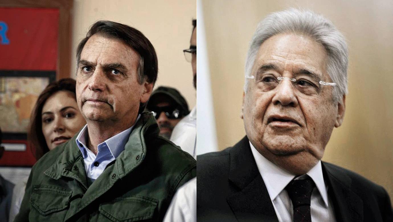 FHC estabilizou a economia do país e controlou a inflação. Bolsonaro é um presidente errático