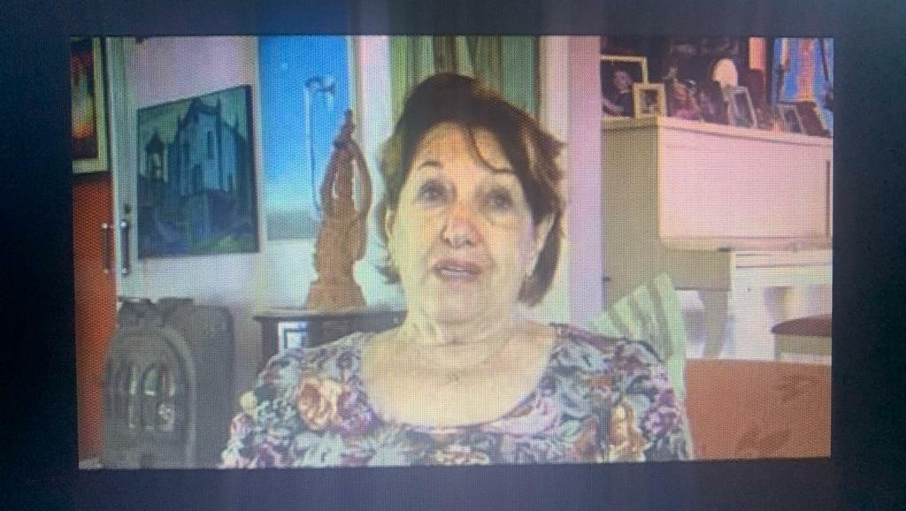 Demoliram uma casa do Centro mas salvaram um painel da artista plástica Maria Guilhermina