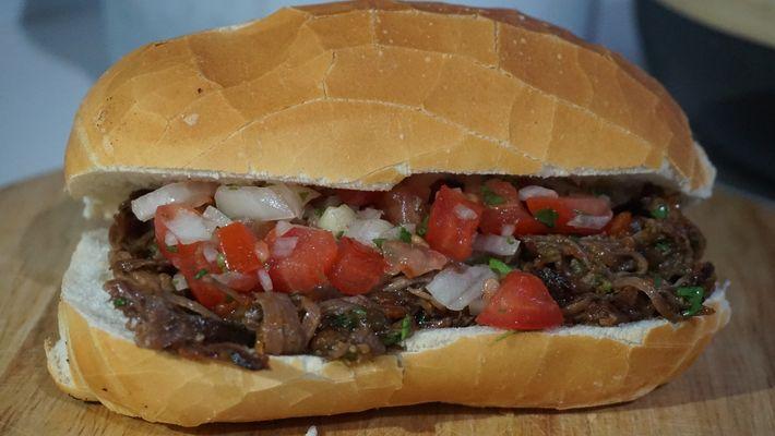 O sanduíche inesquecível que comi em Roma