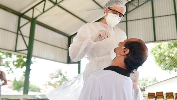 Goiânia realiza testagem ampliada de antígeno da Covid-19 em pessoas assintomáticas