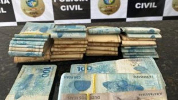 PCGO identifica envolvidos em furto de 10 toneladas de soja em Vianópolis e apreende R$ 71 mil