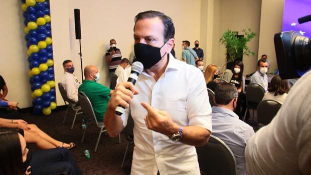 Dória afasta coronel da PM por convocação para ato contra o STF