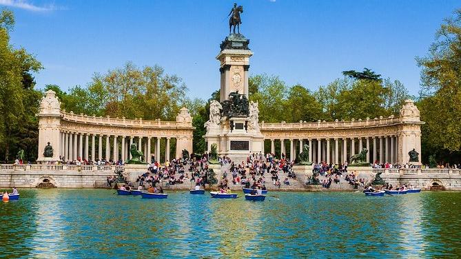 Sabe onde fica um dos mais belos parques do mundo? Em Madri